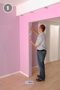 wohnr ume einfach und platzsparend aufteilen. Black Bedroom Furniture Sets. Home Design Ideas